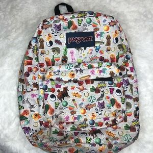 Jansport Superbreak Multi Stickers Backpack Bag